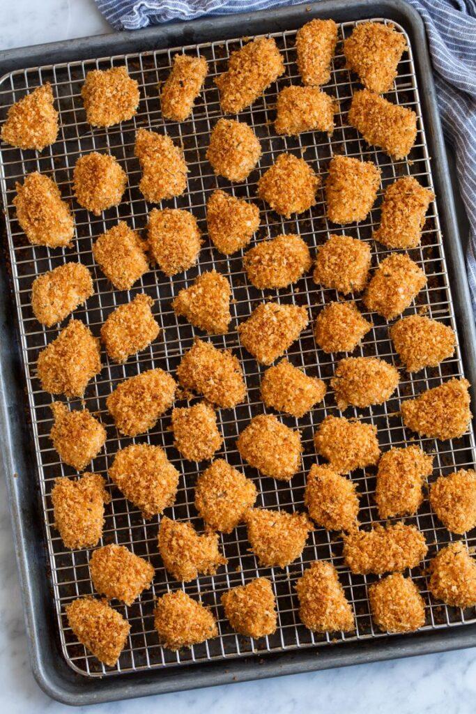 CrossFit Soda City Macro Monday Recipe - Baked Crispy Chicken Nuggets