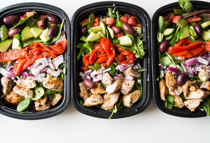 CrossFit Soda City Macro Monday Recipe - Greek Chicken Salad Bowls