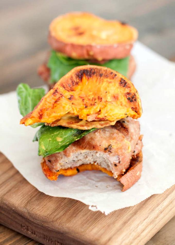 CrossFit Soda City Macro Monday Recipe - Sweet Potato Turkey Burger Sliders