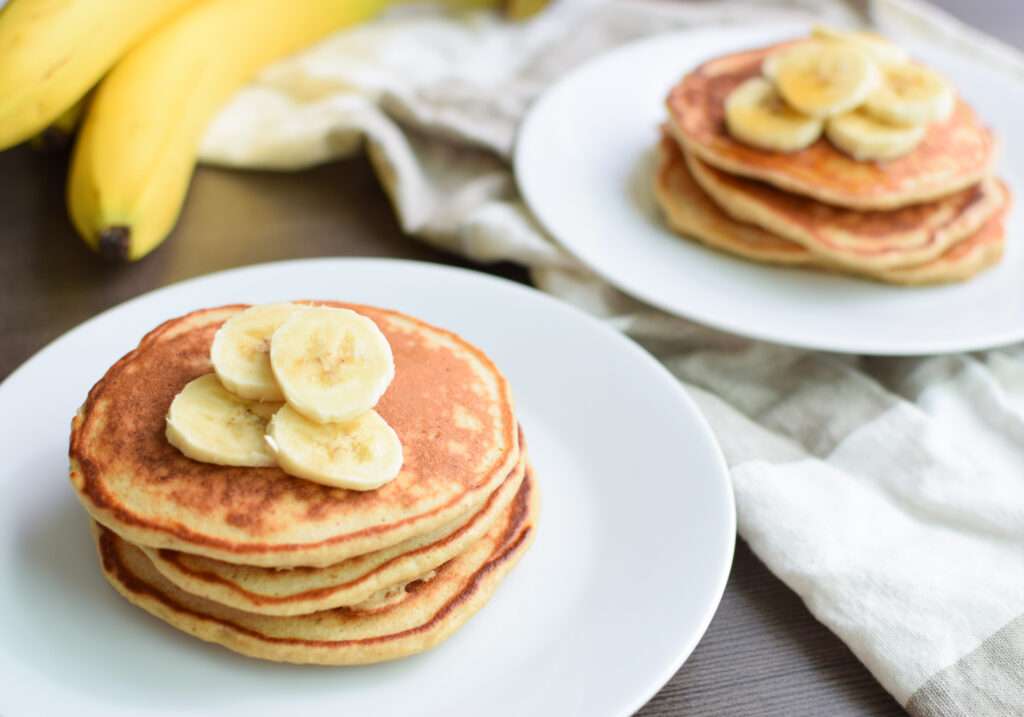 CrossFit Soda City Macro Monday Recipe - Banana Protein Pancakes