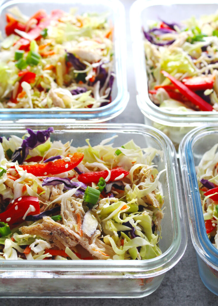 CrossFit Soda City Macro Monday Recipe - Asian Chicken Chopped Salad