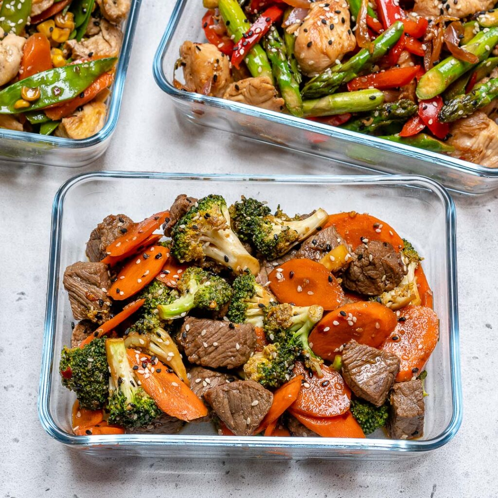CrossFit Soda City Macro Monday Recipe - Easy Beef & Veggie Stir Fry