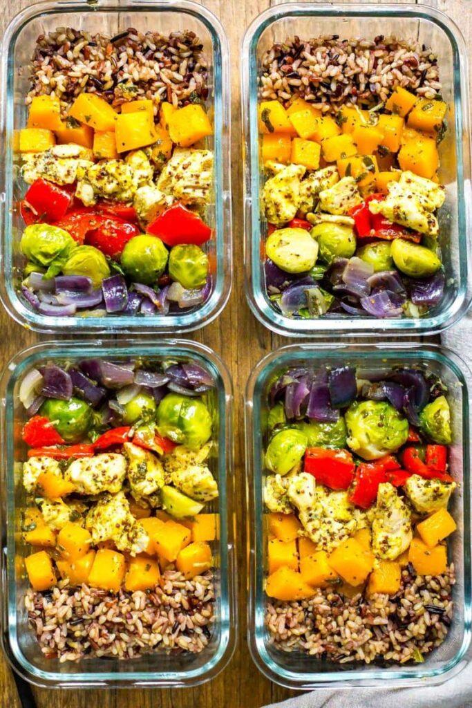 CrossFit Soda City Macro Monday Recipe - Fall Harvest Meal Prep Bowls