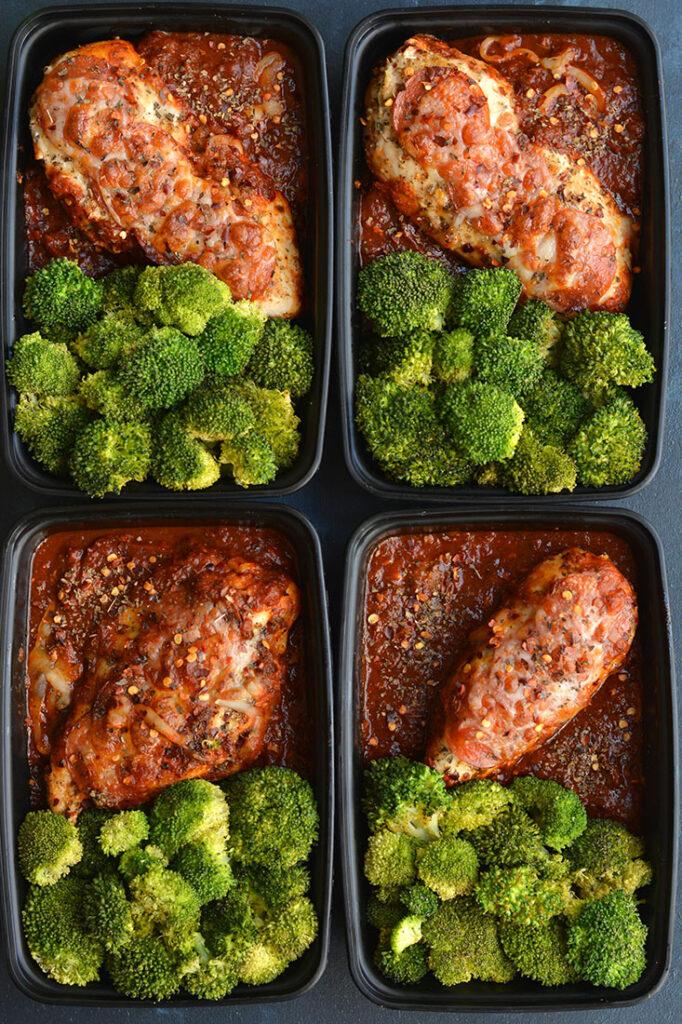 CrossFit Soda City Macro Monday Recipe - Meal Prep Pizza Chicken