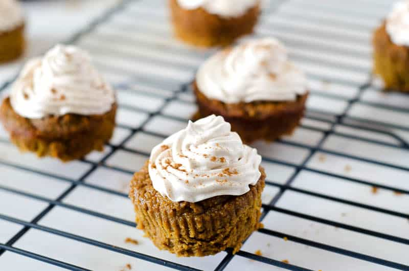 CrossFit Soda City Macro Monday Recipe - Pumpkin Pie Cupcakes
