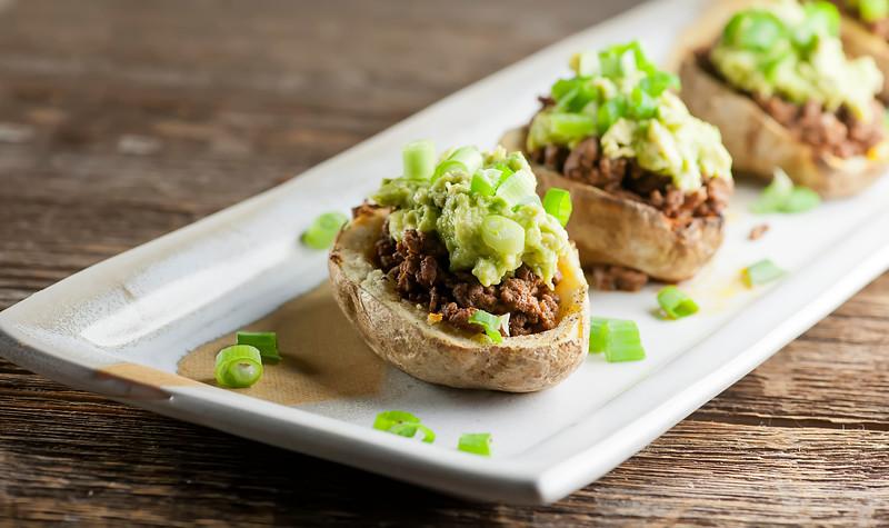 CrossFit Soda City Macro Monday Recipe - Taco Stuffed Potatoes