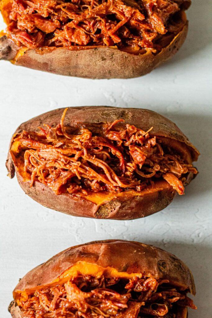 CrossFit Soda City Macro Monday Recipe - BBQ Chicken Sweet Potatoes