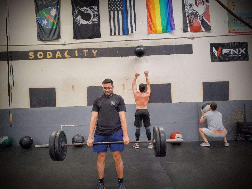 CrossFit Soda City Member Kevin R.