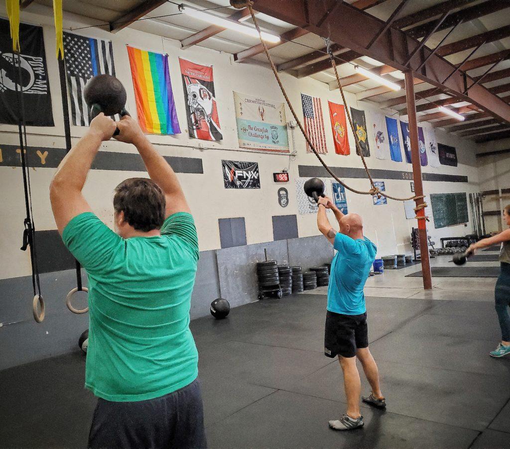 CrossFit Soda City Members Sy & Jay