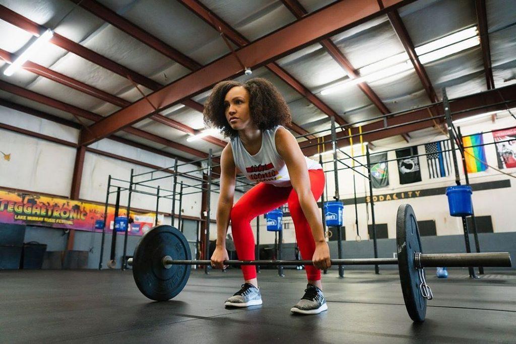 Iconi Leggings Photoshoot at CrossFit Soda City