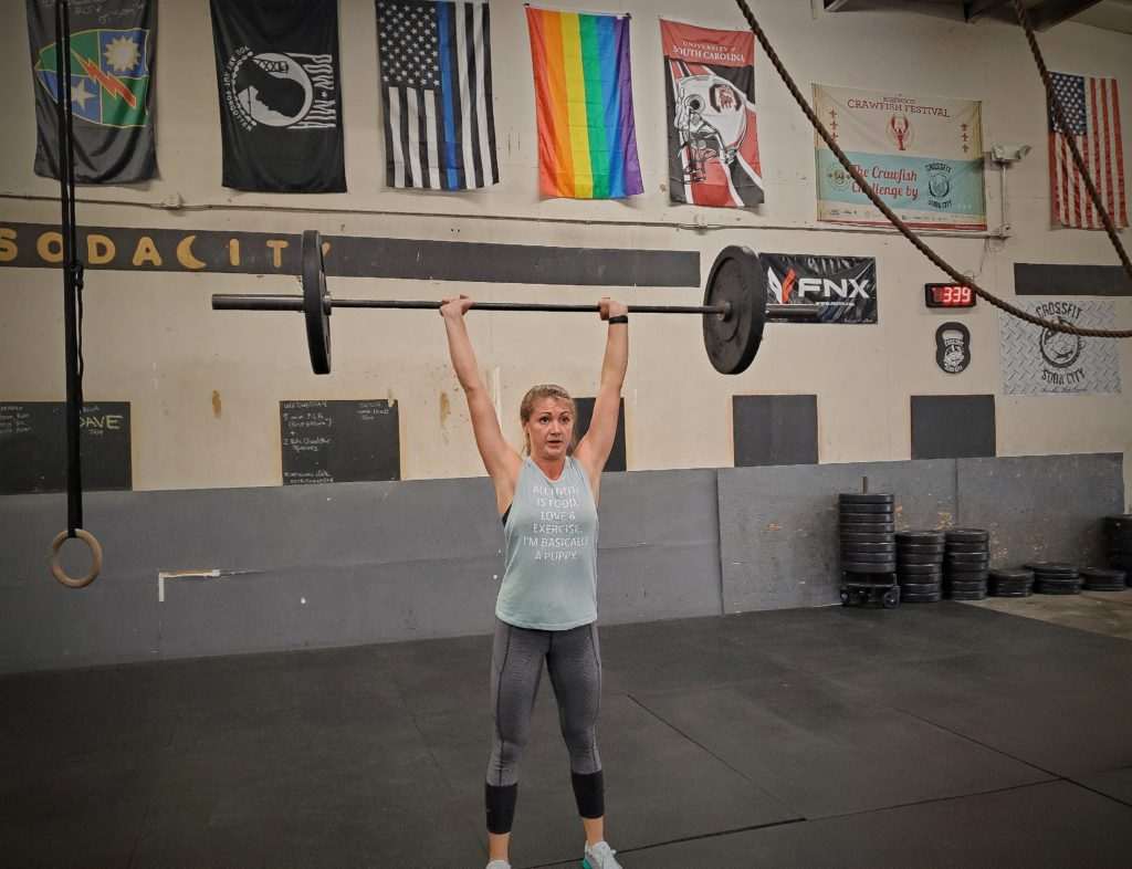 CrossFit Soda City Member Lauryn S.