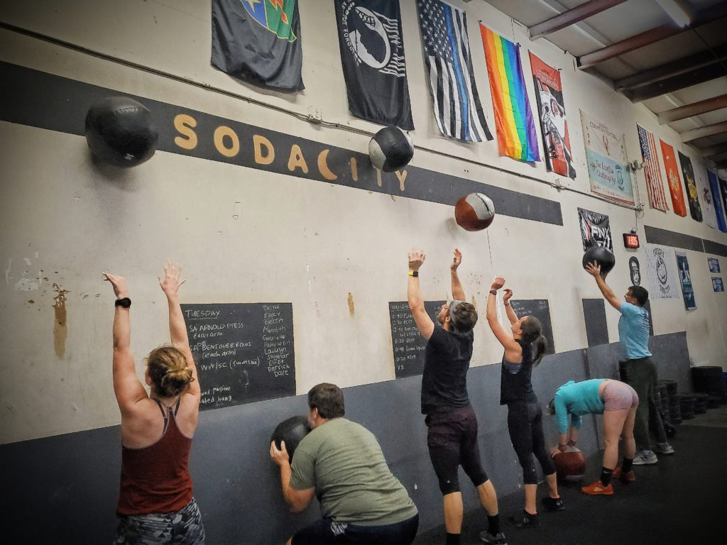 CrossFit Soda City putting in the work!