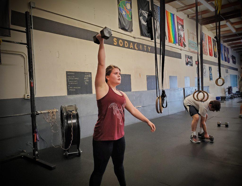 CrossFit Soda City Member Mary Margaret C