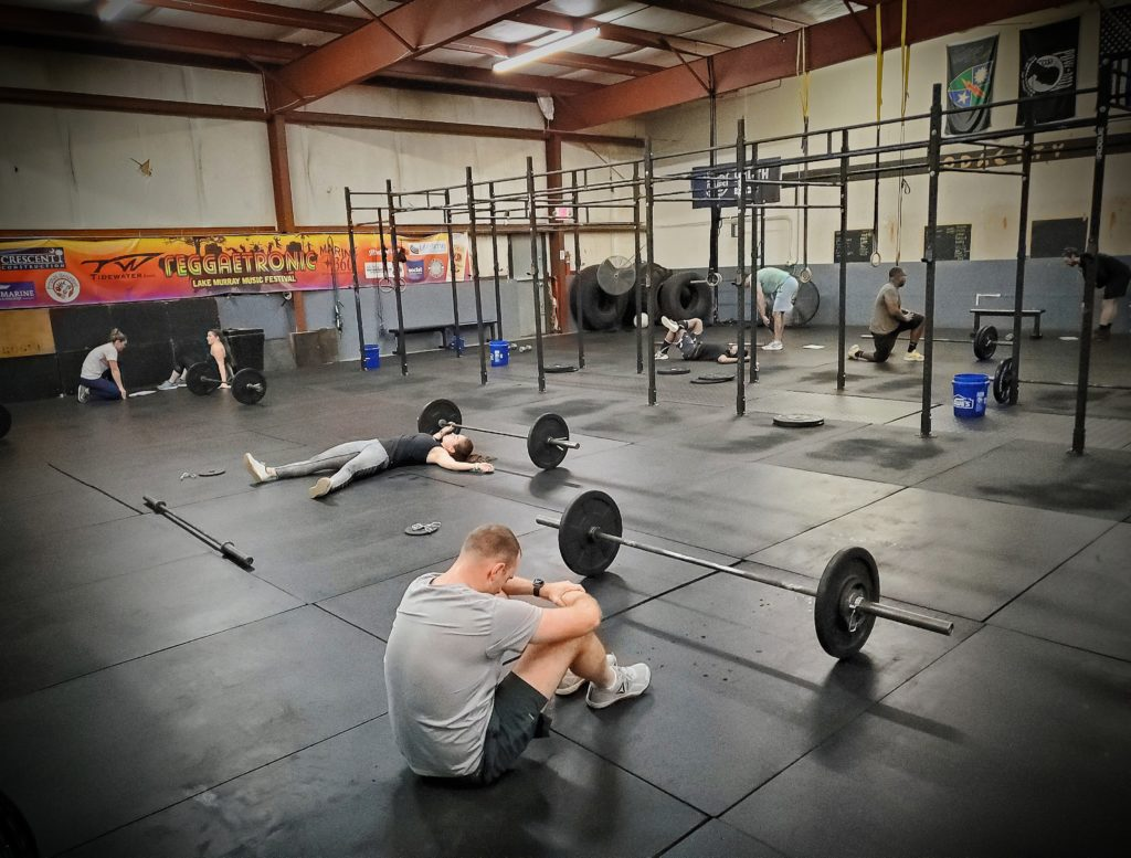 CrossFit Soda City expects you to work hard