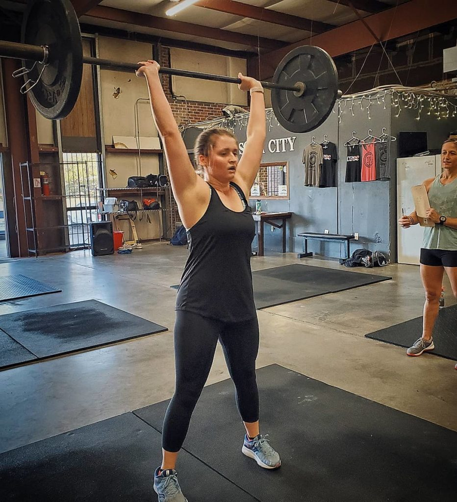 CrossFit Soda City Member Shelby T.