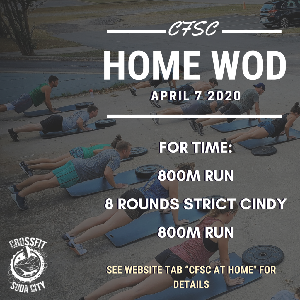 CrossFit Soda City is so ready to see you all again!