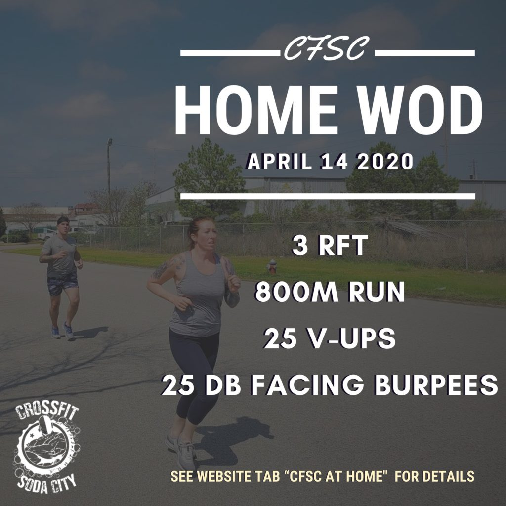 CrossFit Soda City gets you outside today!