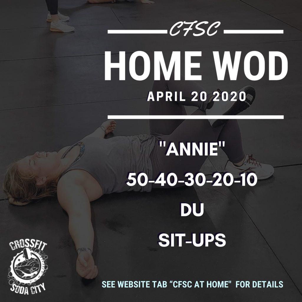 "CrossFit Soda City takes on ""Annie"""