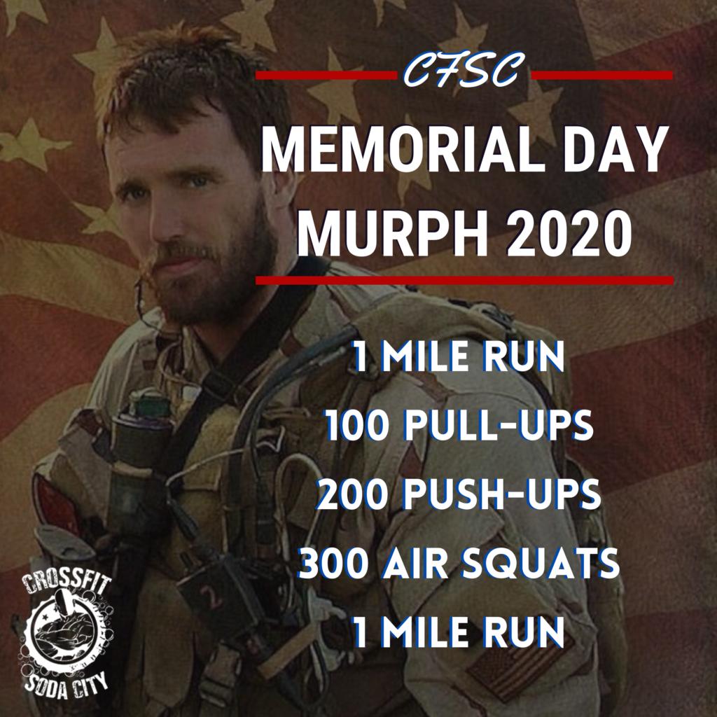 CrossFit Soda City takes on Murph