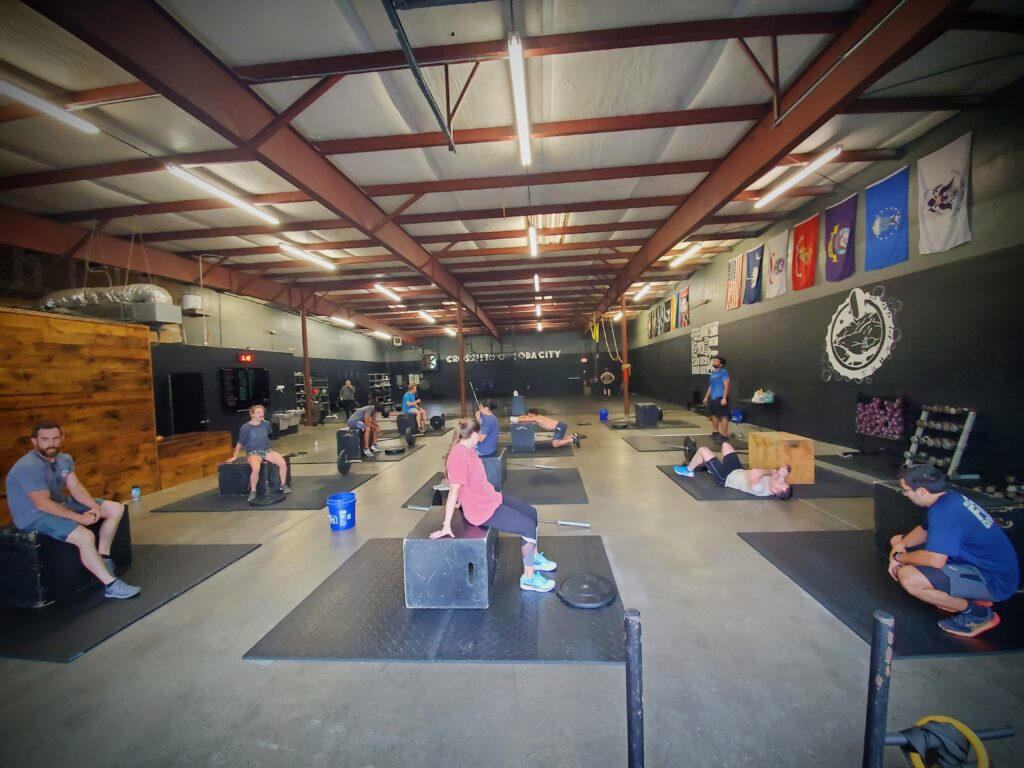 CrossFit Soda City is better with friends!
