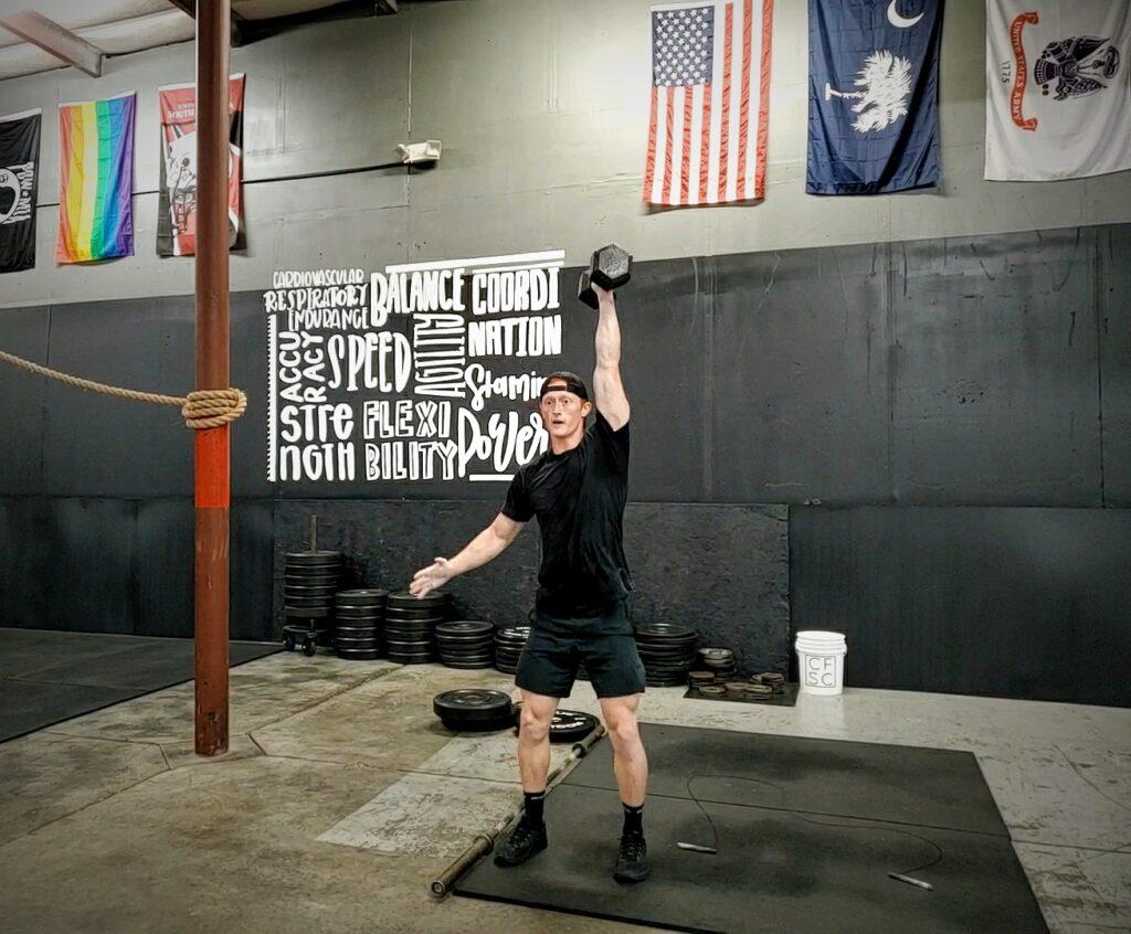 CrossFit Soda City Coach Sean