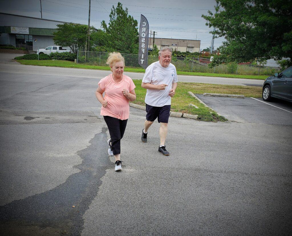 CrossFit Soda City Members Nancy & Russ
