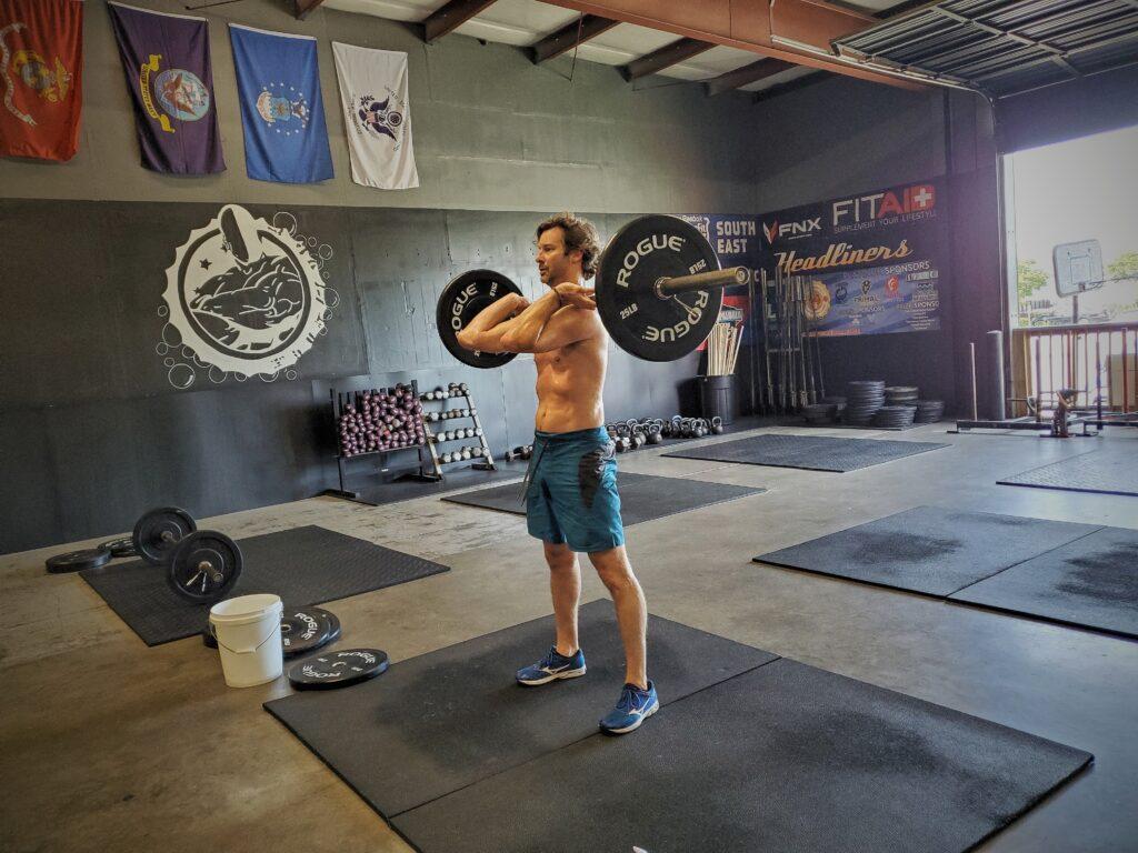 CrossFit Soda City Member Colin W.