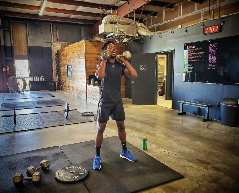 CrossFit Soda City Member Drew J.