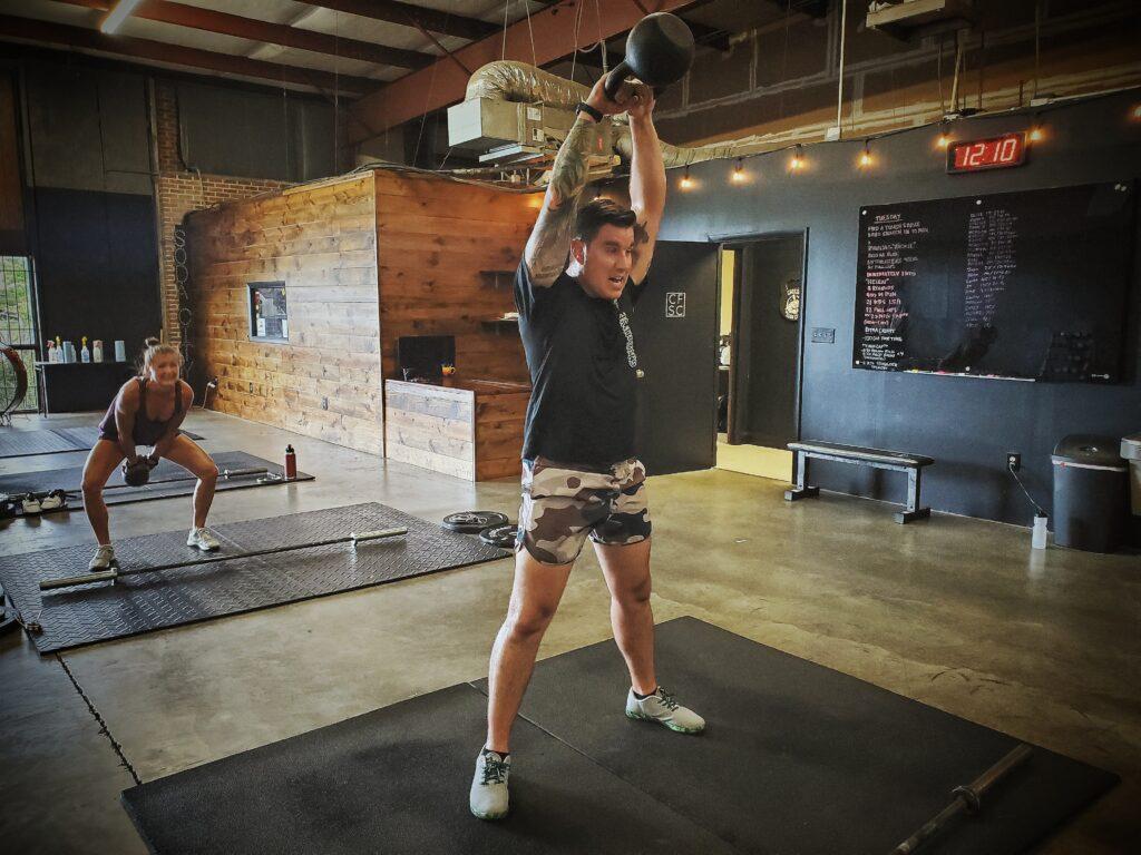 CrossFit Soda City Member Chris L.
