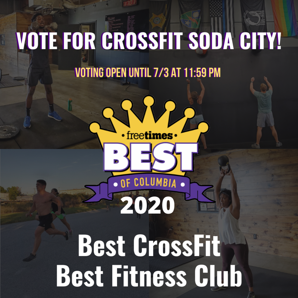 Vote for CrossFit Soda City!