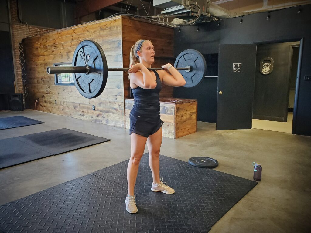 CrossFit Soda City Member Farren A.