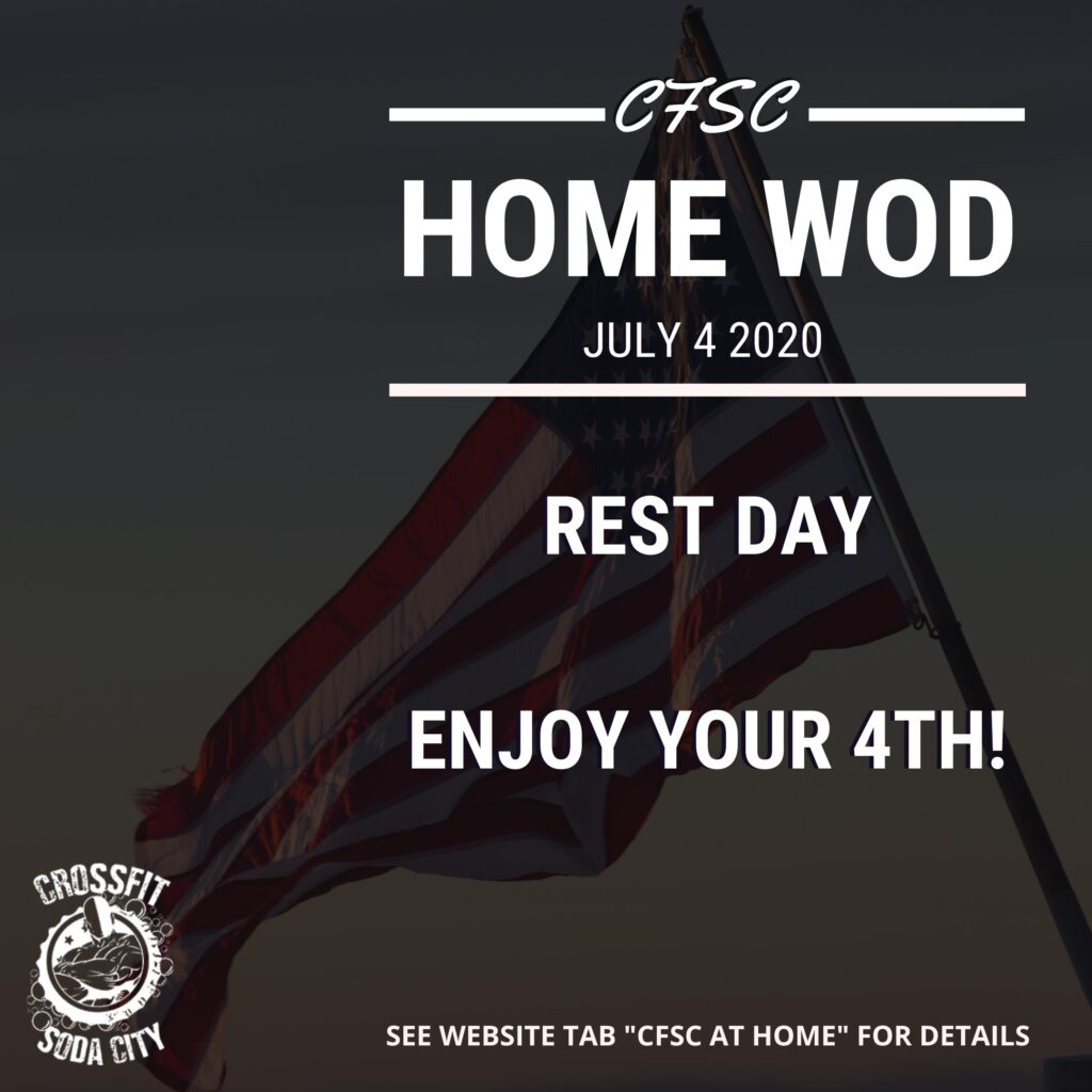 CrossFit Soda City - 4th of July