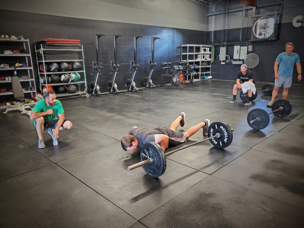 CrossFit Soda City putting in the work