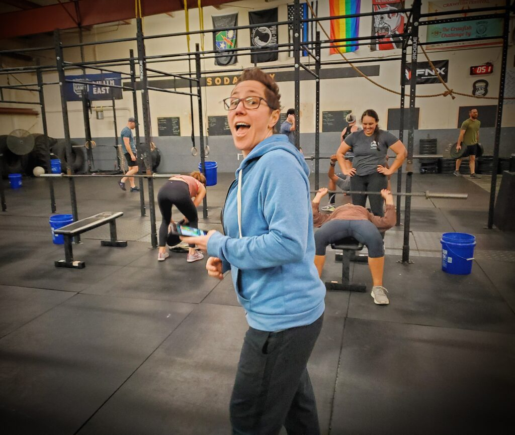 CrossFit Soda City Coach Courtney