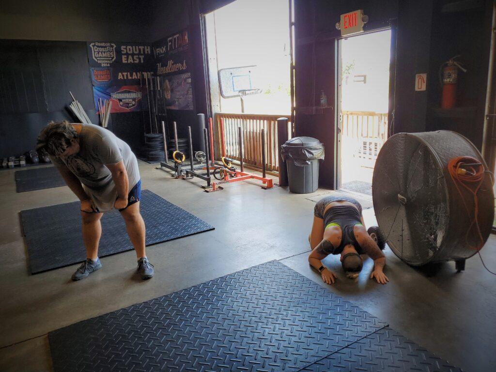 CrossFit Soda City Members Sy & Whit