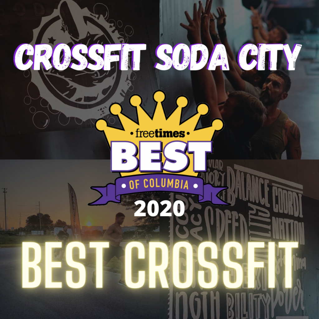 "CFSC once again wins ""Best CrossFit"" from the Free Times."