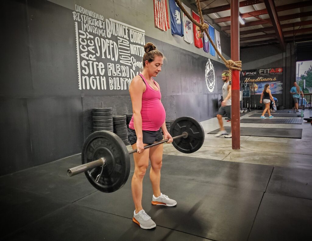 CrossFit Soda City Coach and Mom-to-be, Val