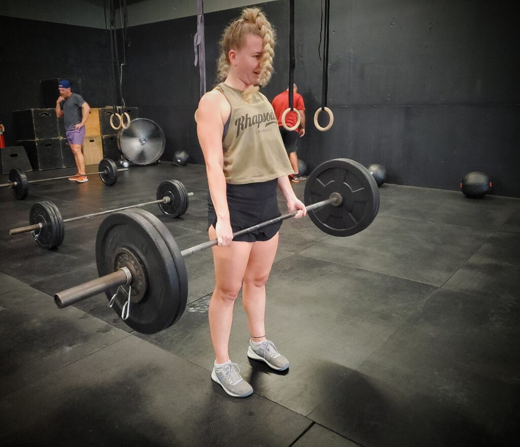 CrossFit Soda City Member Gillian B.