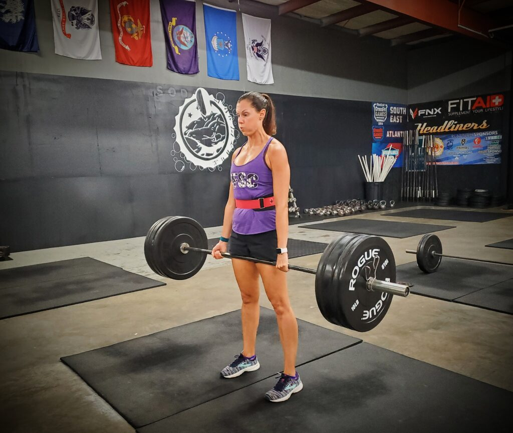 CrossFit Soda City Member Kelly B.