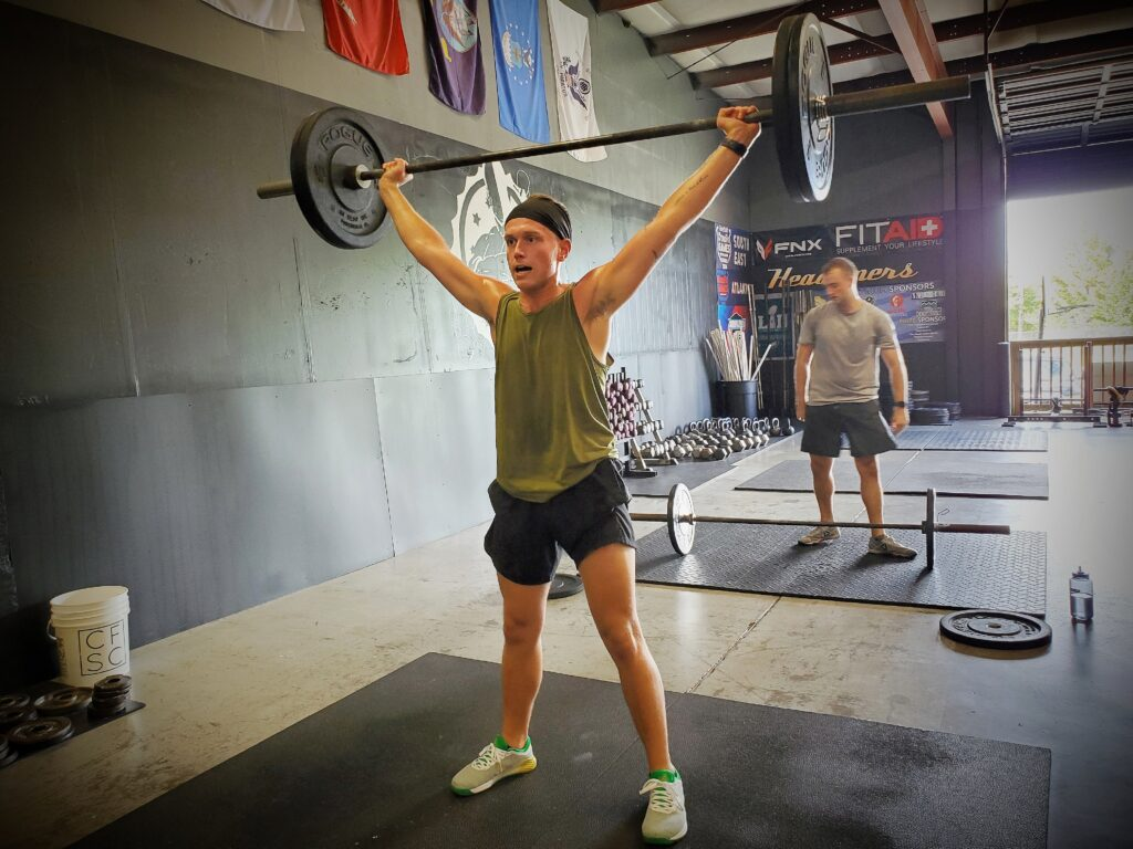 CrossFit Soda City Member Bracken P.