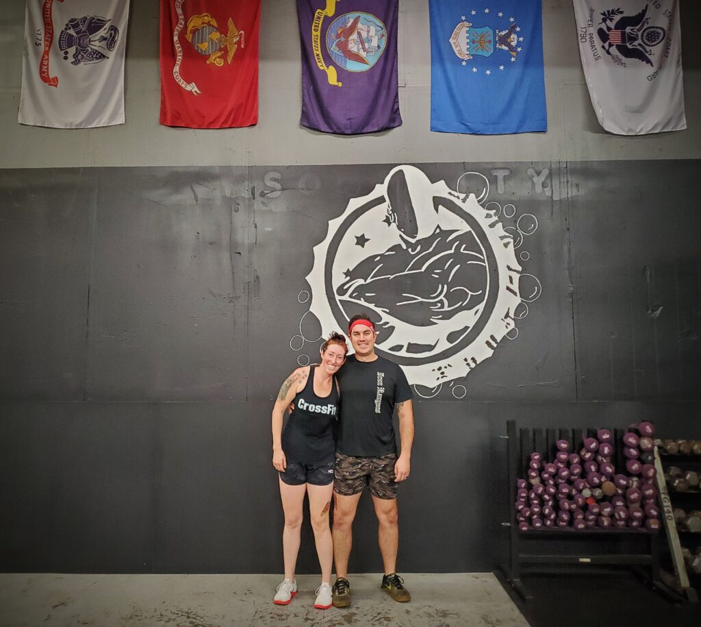 CrossFit Soda City Members Sam & Chris L.
