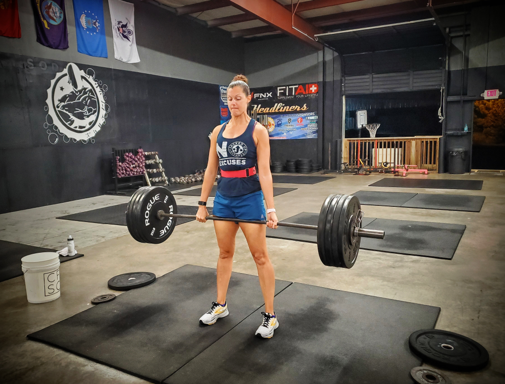CrossFit Soda City Member Kelly B.