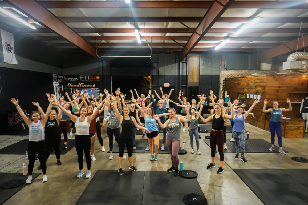 CrossFit Soda City Class with CHAARG
