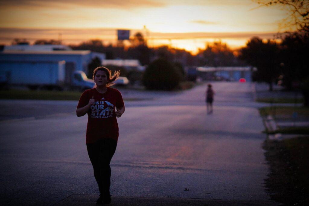 CrossFit Soda City sunrise.