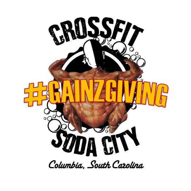 CrossFit Soda City's 7th Annual Gainzgiving