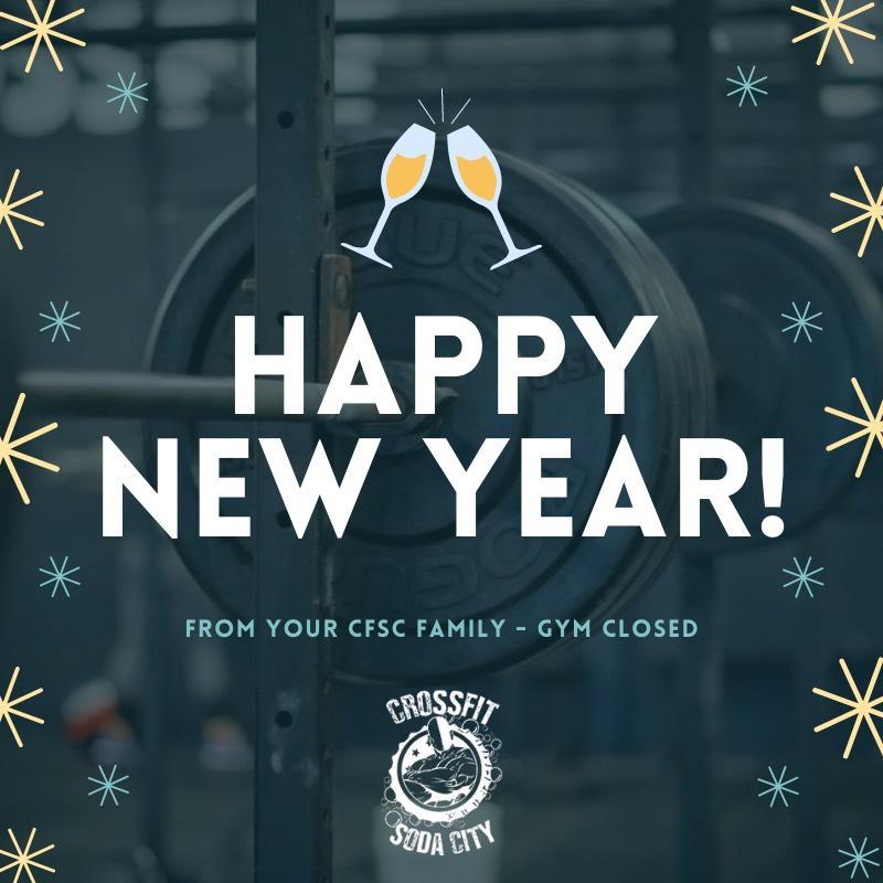 CrossFit Soda City Happy New Year