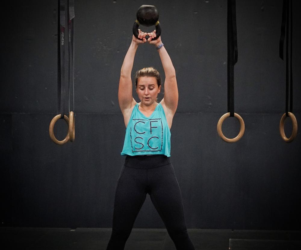CrossFit Soda City Member Caroline S.