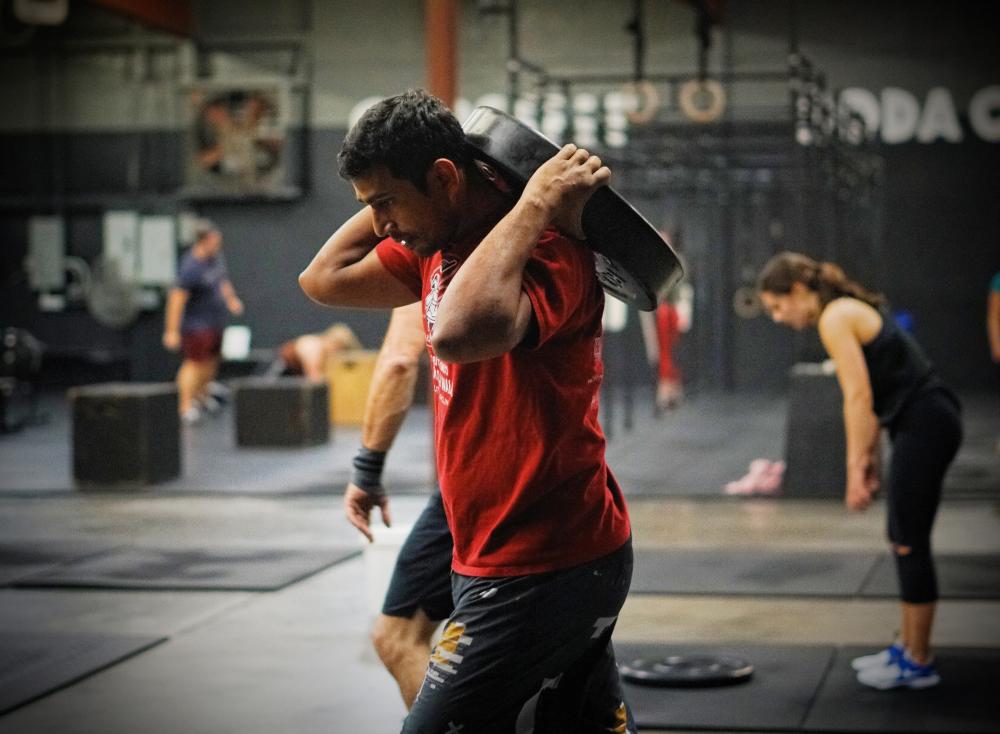 CrossFit Soda City Member Prashant K.