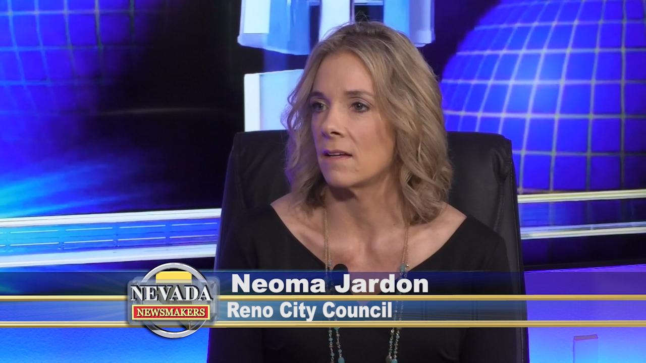 Neoma Jardon, City Council Ward 5 on Nevada Newsmakers.