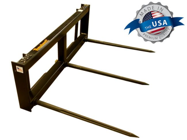 Square Bale Hay Spear Frame